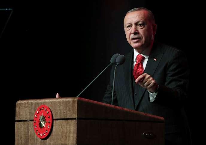 Speech by Turkish President Recep Tayyip Erdogan at the Presidential Palace, Ankara, 18 September.