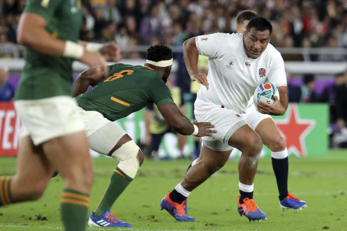 """Like his brother Billy, Mako Vunipola (here November 2, 2019, during the Rugby World Cup final in Yokohama) remained loyal to the Saracens club, which had used financial packages to pay players and so bypass the """"salary cap""""."""