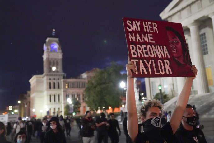Demonstration in Louisville, Kentucky, September 24.