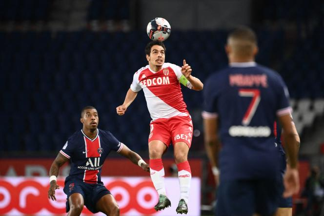 Monegasque striker Wissam ben Yedder did not score on Sunday February 21 at the Parc des Princes, but ASM nevertheless won 2-0 against PSG.