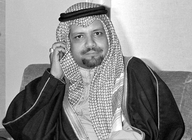 Ahmed Zaki Yamani, in Doha, December 14, 1976.