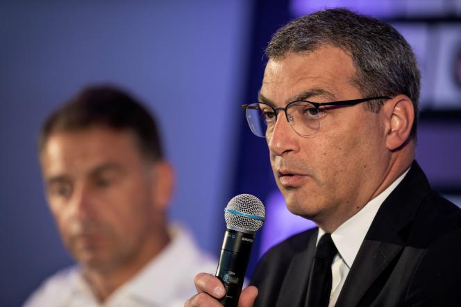 Damien Comolli, president of Toulouse FC, in July 2020.