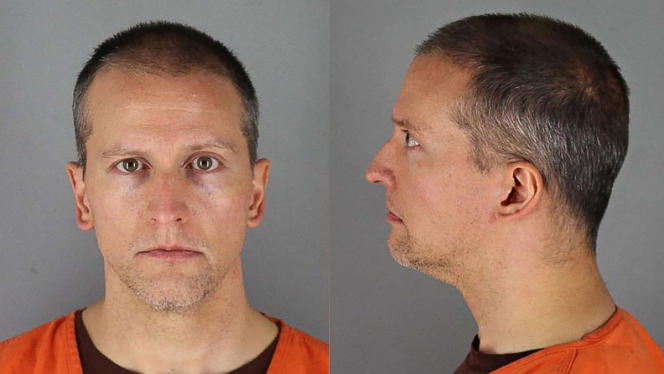 Derek Chauvin, photographed in Hennepin prison, in May 2020.