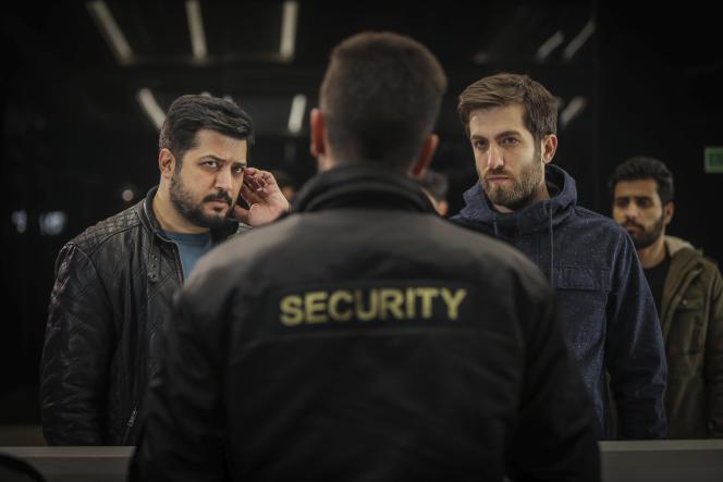 Iranian actors Pendar Akbari and Ashkan Delavari in the series