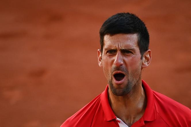 Serbian Novak Djokovic in his 2021 Roland-Garros final won against Greek Stefanos Tsitsipas on June 13 in Paris.