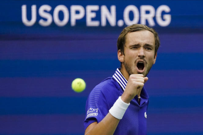 Russian Daniil Medvedev swept aside Canadian Félix Auger-Aliassime in the semi-finals of the US Open on September 10, 2021.