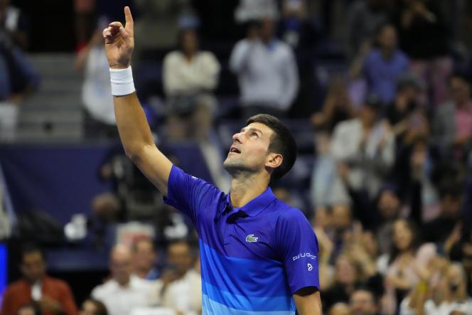 Novak Djokovic qualified for the final of the US Open, beating the German Alexander Zverev, Friday, September 10, 2021, in New York.