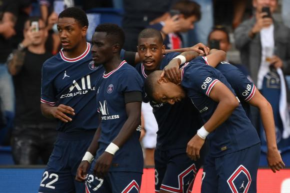 The Parisians won 4-0 against Clermont on the fifth day of Ligue 1.
