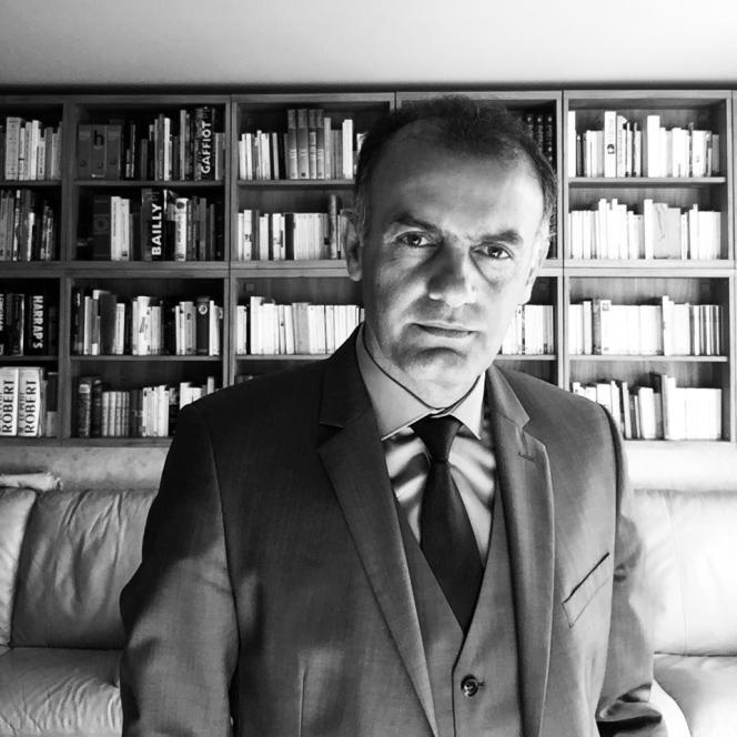 Franco-Iraqi sociologist Adel Bakawan, in March 2021.